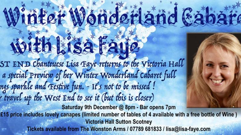 A Winter Wonderland Cabaret